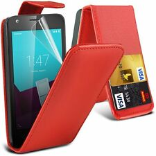 High Quality Compact Premium Leather PU Flip Case Cover for HTC Phone Models