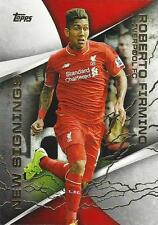 Topps Premier Gold 2015 'New Signings' Liverpool Manchester United Arsenal City