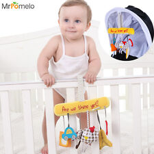 Baby Toys 0-12 Months Hanging Bells Infant Multifunctional Stroller Toy for Bed