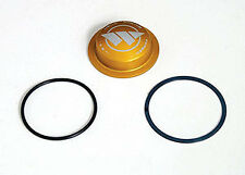 Weld Racing C0323 Center Dust Cap For 8088 Hubs Billet Aluminum with Gold Finish