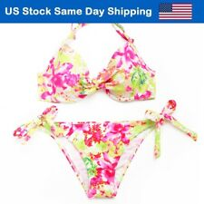 Bikini Swimsuit for Lady Sexy Bathing Suit Cover Cheap Floral Bandeau Costume