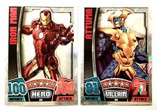 MARVEL HERO ATTAX AGE OF ULTRON BASE,MIRROR,HOLO,PROMO,LIMITED #1-208 USE BASKET