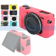 For Canon G7XII Soft Silicone Rubber Skin Case Cover Bag Camera Armor 8Colors US