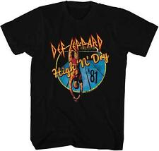 HIGH N DRY Def Leppard English Rock Band Heavy Metal Hard Rock Adult T-Shirt