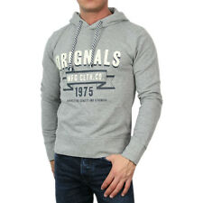 5595 Jack & Jones Hooded Jumper Sweatshirt Hooded Hazy Sweat grey