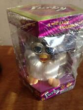 Furby Tiger Electronics #70-800 Original 1998 Pink & Grey New w/Tags & Box
