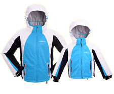 PERYSHER Extra Warm Baby-Blue Snowboard Ski Jacket for Kids & Youth