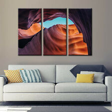 Canyon Landscape Canvas Print Poster Wall Art Home Decor Framed Art 3 Panels