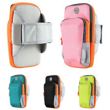 Cycling Jogging Running Sports Gym Armband Arm Band Holder Bag For Mobile Phones