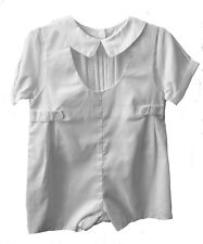 Boys Romper White Infant Petit Ami 3 Months NWT Baby Christening