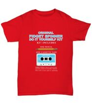 Fidget Spinner do it yourself humorous t-shirt with how-to - Unisex Tee