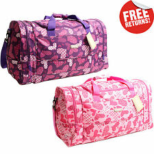 Womens Heart Hand Luggage Cabin Bag Ryanair Carry On Holdall Weekend Travel Gym