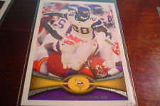 2012 Topps Adrian Peterson #200 Football Card New Orleans Saints