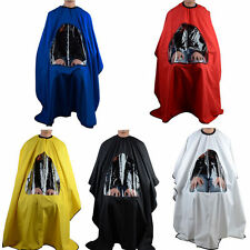 Salon Barber Hair Cutting Haircut Cape Hairdresser Gown Stylist Viewing Window