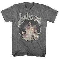DISTRESSED PHOTO Jimi Hendrix Psychedelic Rock Electric Guitarist ADULT T-Shirt