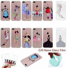ULTRA THIN Fashion Design TPU SOFT RUGGED Back Case Cover Skin For Apple iPhone