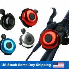 Bicycle Bell Bike Horn Loud Handlebar Ring for Mountain Road Exercise Bike Acces