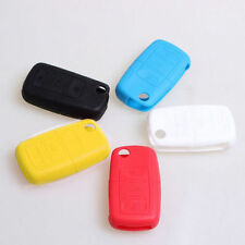3 Buttons Silicone Car Key Cover Protective Case Key Fob Shell for VW VOLKSWAGEN