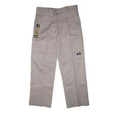 Dickies 852 Loose Double Knee Work Pants Silver Authentic FREE Postage