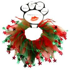 Mirage Pets Christmas Stars Smoocher for Pets - Red and Green (SM-MD-LG-XL)