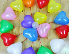 Heart Shape Latex Helium Balloons Wedding Birthday Party Decoration Supplies Hot