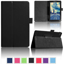 Leather Flip Stand Case Book Cover Skin For Amazon Kindle Fire 7 2017 7th Gen