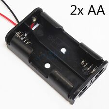 Cell AA Battery Wired Box Holder Storage Case for Electric Toy Car DIY Habit Hot