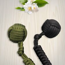 Security protecting Monkey Fist Self Defense Multifunctional Key Chain Q