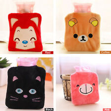 New Cartoon Plush PVC Hot Water Filling Bottle Bag Winter Hand Warmer Heater