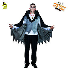 Adult's Mens Classic Fancy Vampire Costume Halloween Costume Party Cosplay Dress