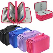 4 Layers Pencil Case Pen Pouch Box Makeup Brush Storage Bag High Capacity Holder