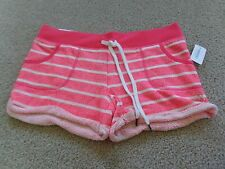 aeropostale womens lld striped terry shorty shorts NWT