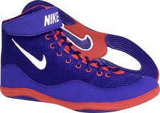 Nike Inflict Wrestling Shoe - Royal/Red - 325256-416