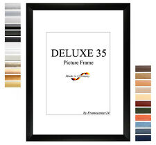 deluxe35 Picture Frame 78x122 cm or 122x78 cm Photo/Gallery/Poster Frame