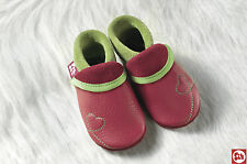 Pololo Soft Baby Leather Shoe Sunshine