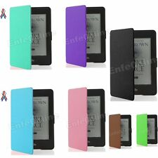 Magnetic Leather Guard Slim Smart Case Cover For Amazon Kindle Paperwhite 1 2 3