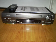 PANASONIC AG-2580 DA 4 HEAD Hi-Fi VHS VCR PRO-CISION 19U HEAD SQPB SKIP SEARCH