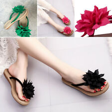 New Womens Summer Sandals Slippers Shoes Sandals Flip Flops Flat Shoes Slippers