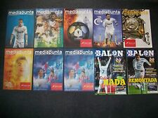 REAL MADRID UEFA CHAMPIONS LEAGUE HOME PROGRAMMES. 2012 to 2015. ATLETICO