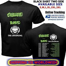 Hot!! The-Offspring-Sublime-With-Rome-Tour-Dates-2017 Black T-shirt