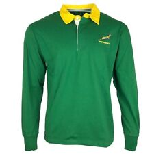 BrandCo Springboks South Africa LS Rugby Jersey