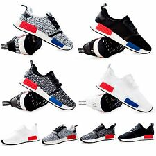 Mens Boys Air Shock Absorbing Casual Running Walking Trainers Jogging Gym Shoes