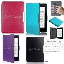 Leather Smart Shell Case Cover for Amazon Kindle Paperwhite / Kindle