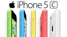 Apple iPhone 5C - 16GB 32GB - (AT&T Cricket H20 +) All Colors 4G LTE Smartphone