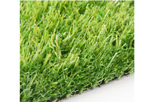 Artificial Grass Astro Turf Fake Lawn Realistic Outdoor Carpet - NEWSTEAD 30MM