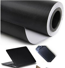 30*127cm 3D Carbon Fiber Vinyl Car Wrap Sheet Roll Film Sticker Decal