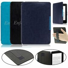 Hand Strap Slim Leather Smart Shell Case Cover for Amazon Kindle Paperwhite1/2/3
