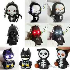 Cool LED Key Chain Figure Toys With Sound Various Type Perfect For Gift Souvenir