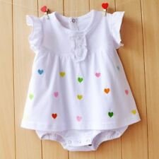 Baby Girl Rompers Summer Jumpsuits Clothing Sets Roupas Bebes Flower Newborn