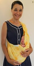 NURTURE SLING® Organic Cotton - NEW baby sling pouch carrier - SALE - 1/2 price